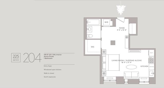Studio, Gramercy Park Rental in NYC for $4,150 - Photo 2