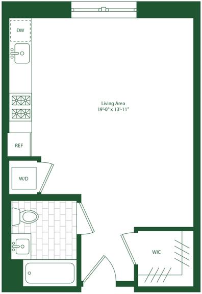 Studio, Flatbush Rental in NYC for $2,017 - Photo 2