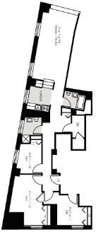 Studio, Financial District Rental in NYC for $6,339 - Photo 2
