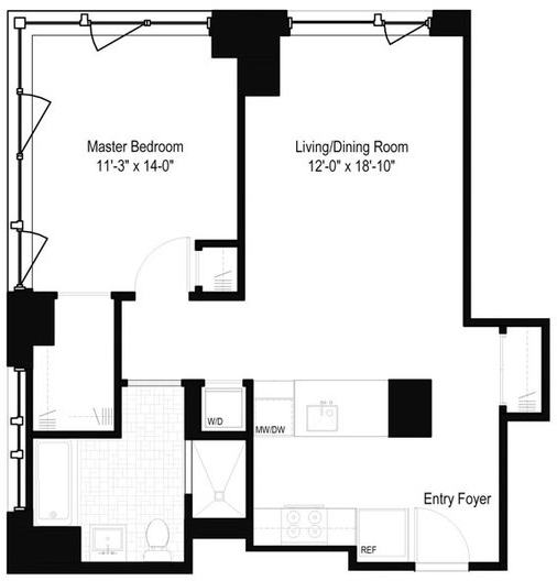 1 Bedroom, Yorkville Rental in NYC for $5,095 - Photo 2