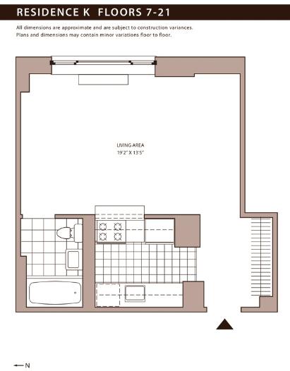 Studio, NoMad Rental in NYC for $3,584 - Photo 2