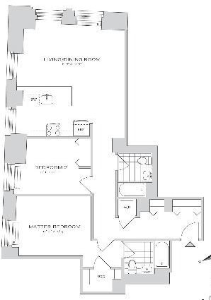 2 Bedrooms, Financial District Rental in NYC for $5,678 - Photo 2