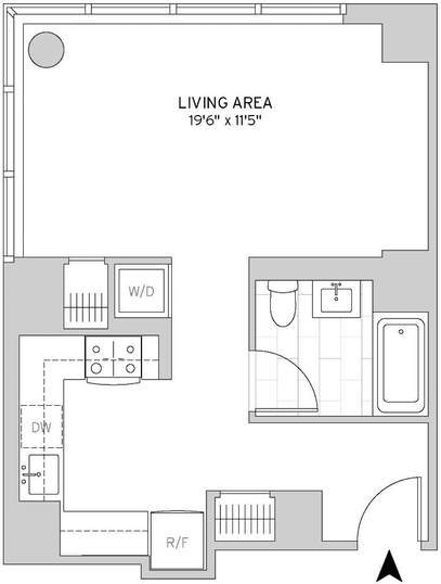 Studio, Murray Hill Rental in NYC for $3,536 - Photo 2