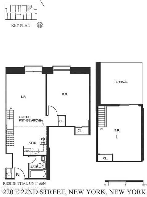 2 Bedrooms, Gramercy Park Rental in NYC for $5,096 - Photo 2