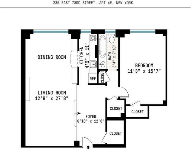 1 Bedroom, Upper East Side Rental in NYC for $4,300 - Photo 2