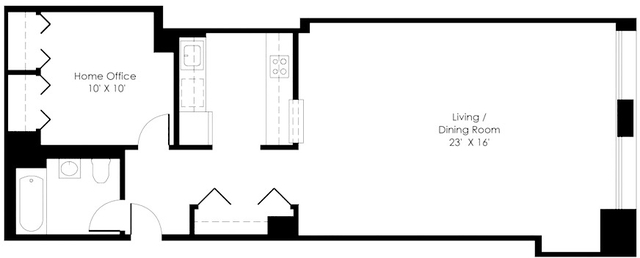 Studio, Financial District Rental in NYC for $4,200 - Photo 2