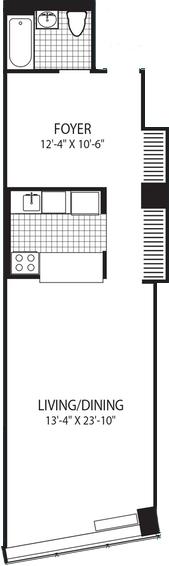 Studio, DUMBO Rental in NYC for $3,309 - Photo 2