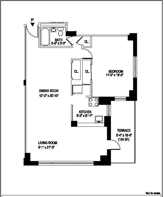 1 Bedroom, Manhattan Valley Rental in NYC for $4,682 - Photo 2