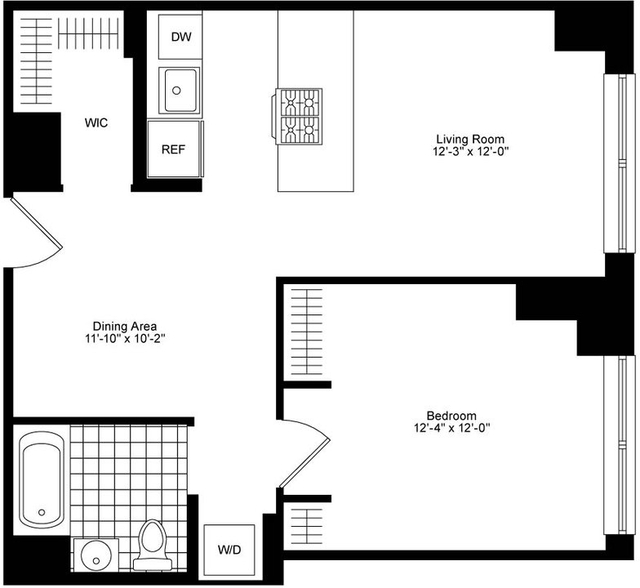 1 Bedroom, Chelsea Rental in NYC for $5,540 - Photo 2