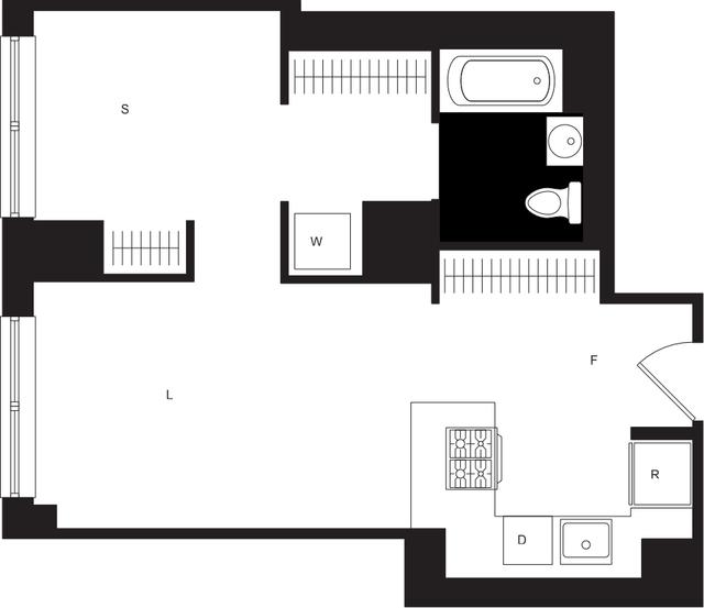 Studio, Chelsea Rental in NYC for $4,525 - Photo 1
