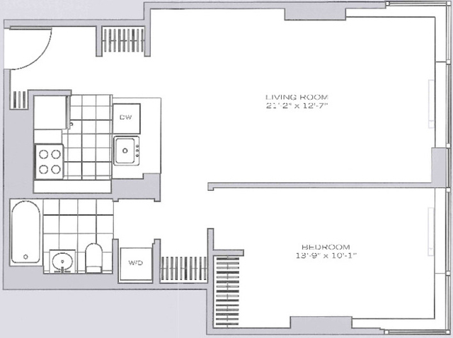 1 Bedroom, Garment District Rental in NYC for $4,395 - Photo 1