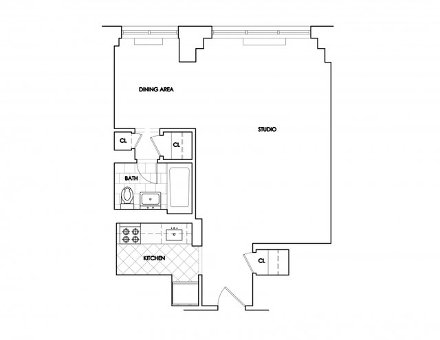 Studio, Rose Hill Rental in NYC for $3,595 - Photo 2