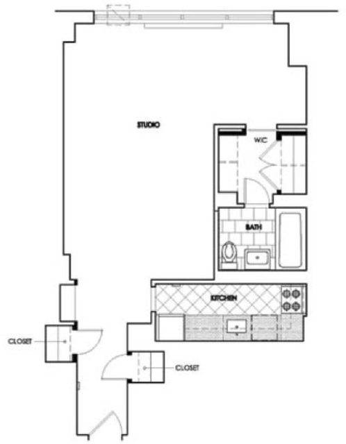 Studio, Upper West Side Rental in NYC for $3,020 - Photo 2
