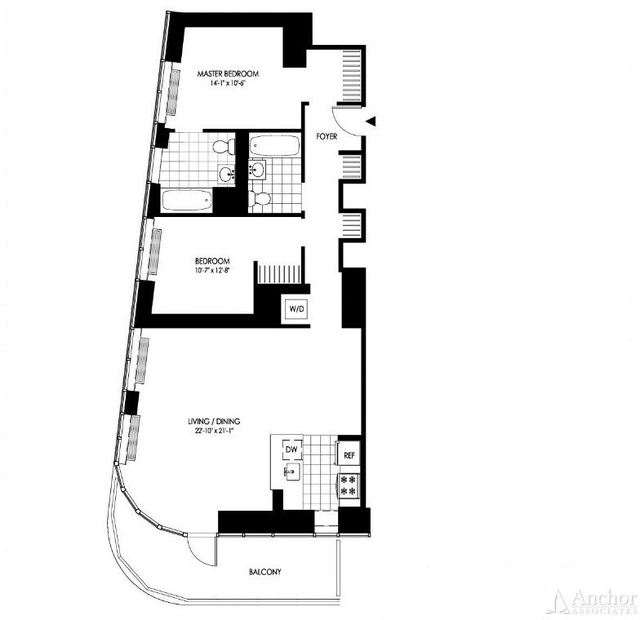 2 Bedrooms, Hunters Point Rental in NYC for $4,579 - Photo 2