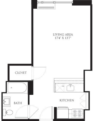 Studio, Chelsea Rental in NYC for $3,546 - Photo 2