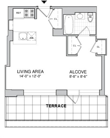 Studio, Boerum Hill Rental in NYC for $3,568 - Photo 2