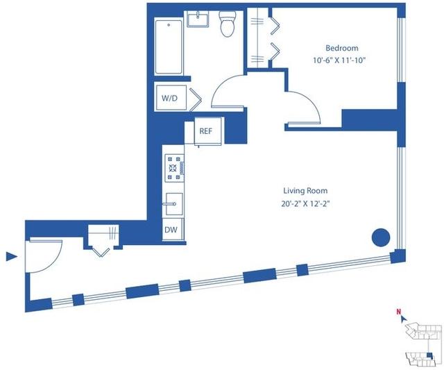1 Bedroom, Astoria Rental in NYC for $3,405 - Photo 2