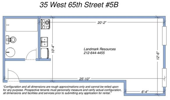 Studio, Lincoln Square Rental in NYC for $2,295 - Photo 2
