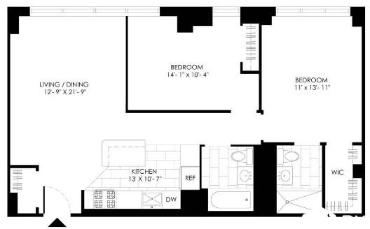 3 Bedrooms, Turtle Bay Rental in NYC for $5,315 - Photo 2