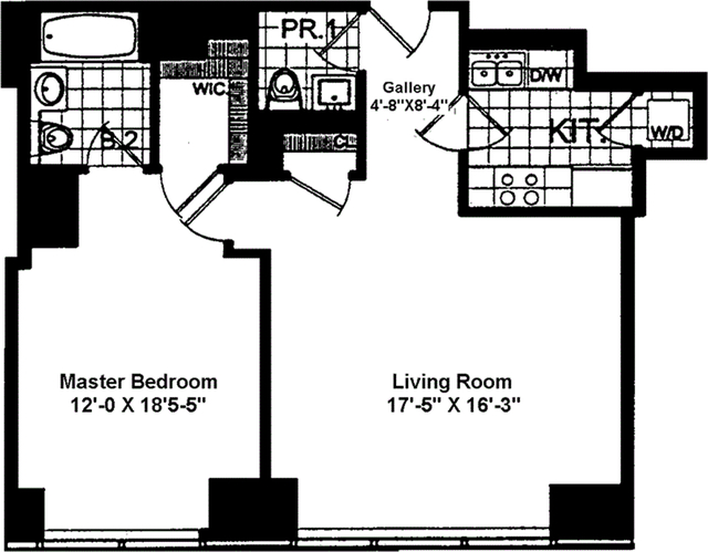 1 Bedroom, Theater District Rental in NYC for $5,150 - Photo 2