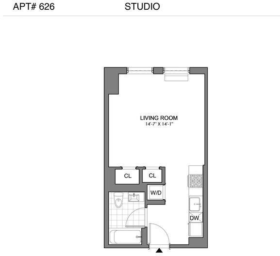 Studio, Williamsburg Rental in NYC for $2,751 - Photo 2