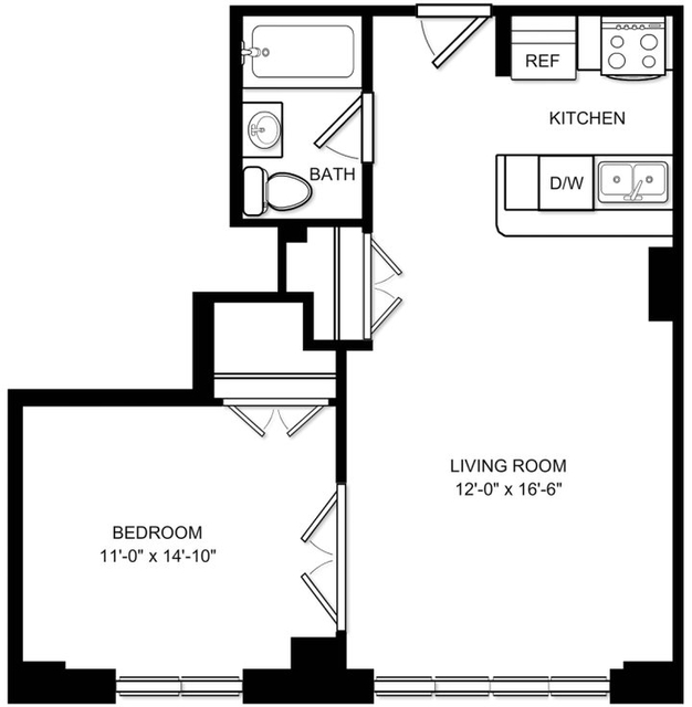 1 Bedroom, Chelsea Rental in NYC for $4,542 - Photo 1