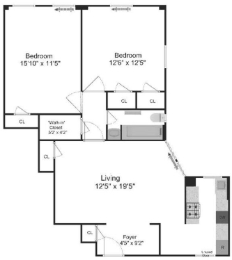 2 Bedrooms, Upper West Side Rental in NYC for $4,495 - Photo 2
