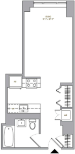 Studio, Downtown Brooklyn Rental in NYC for $2,895 - Photo 2