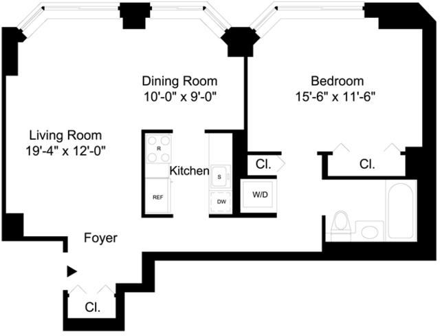 1 Bedroom, Financial District Rental in NYC for $4,275 - Photo 2