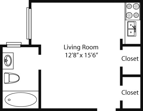 Studio, Lincoln Square Rental in NYC for $2,518 - Photo 2