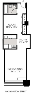 Studio, West Village Rental in NYC for $4,095 - Photo 2