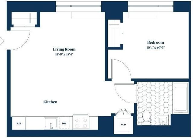 Studio, Alphabet City Rental in NYC for $2,388 - Photo 2