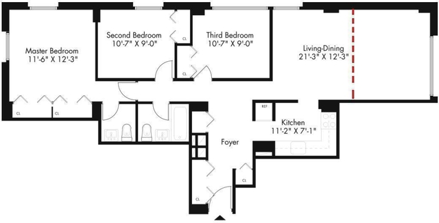 3 Bedrooms, Kips Bay Rental in NYC for $4,999 - Photo 2
