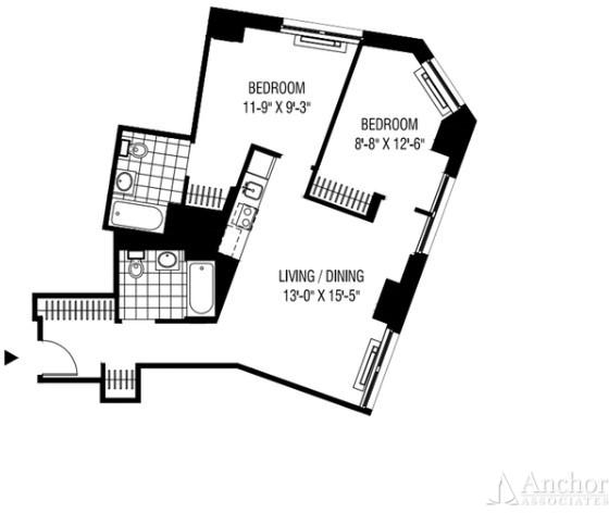 2 Bedrooms, Financial District Rental in NYC for $4,038 - Photo 2