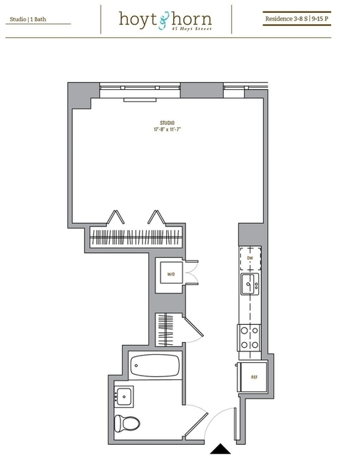 Studio, Downtown Brooklyn Rental in NYC for $3,025 - Photo 2
