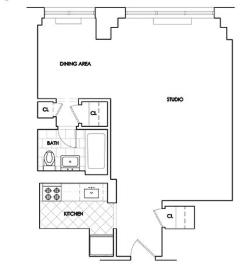 Studio, Rose Hill Rental in NYC for $3,295 - Photo 1
