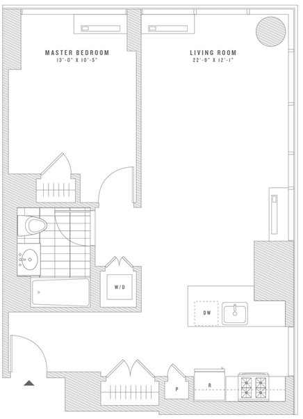 1 Bedroom, Koreatown Rental in NYC for $3,761 - Photo 2