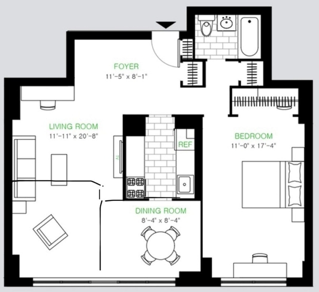 1 Bedroom, Yorkville Rental in NYC for $4,263 - Photo 2