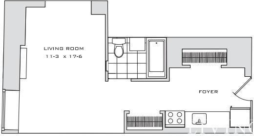 Studio, Financial District Rental in NYC for $2,630 - Photo 2