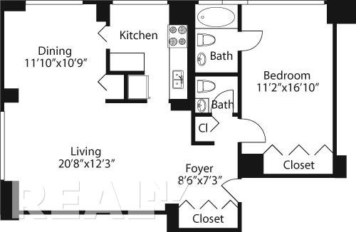 2 Bedrooms, Rose Hill Rental in NYC for $4,722 - Photo 2