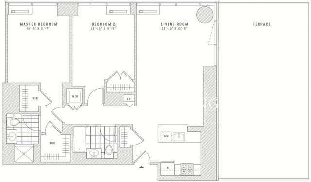 2 Bedrooms, Chelsea Rental in NYC for $9,191 - Photo 2