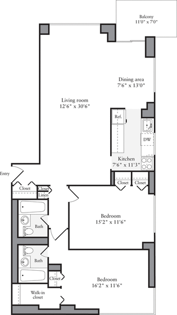 2 Bedrooms, Murray Hill Rental in NYC for $6,551 - Photo 2
