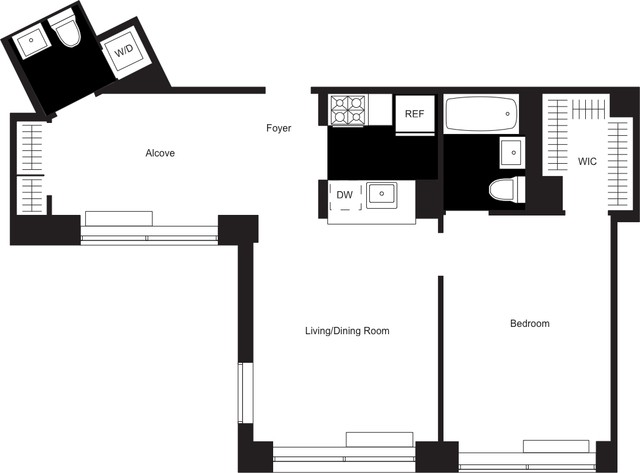 2 Bedrooms, Chelsea Rental in NYC for $6,915 - Photo 2