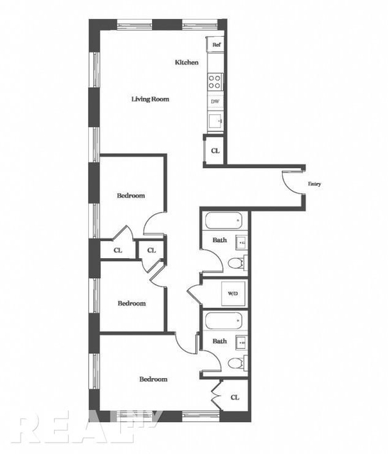 3 Bedrooms, Williamsburg Rental in NYC for $5,909 - Photo 2