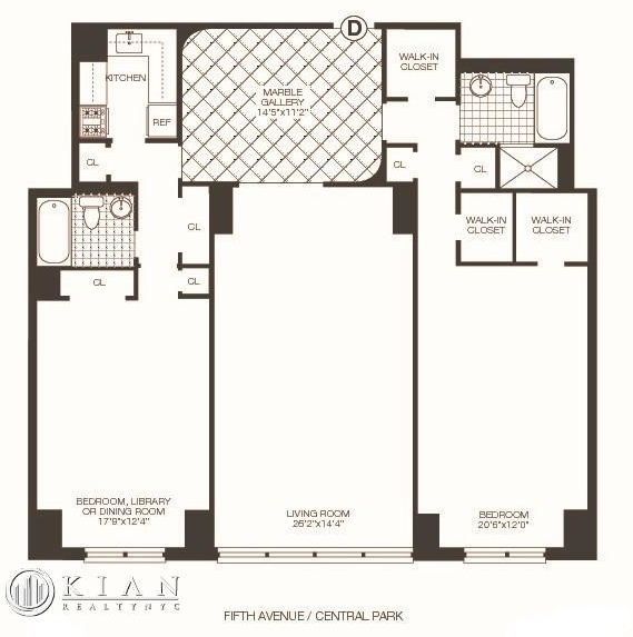 2 Bedrooms, Lenox Hill Rental in NYC for $12,450 - Photo 2