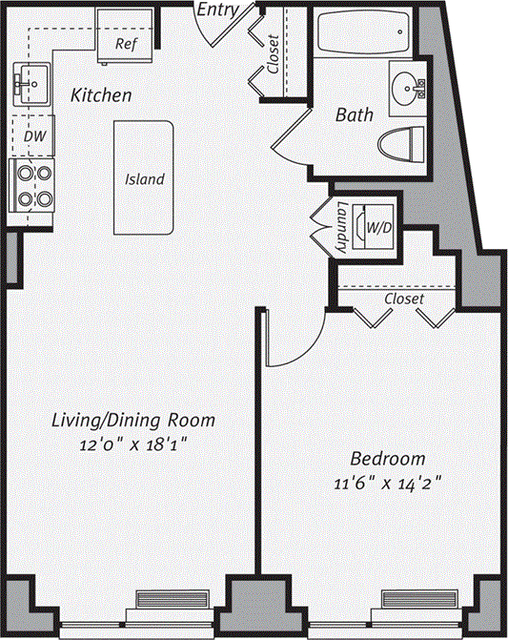 1 Bedroom, Morningside Heights Rental in NYC for $3,680 - Photo 1
