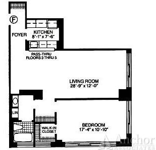1 Bedroom, Theater District Rental in NYC for $3,680 - Photo 2