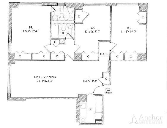 3 Bedrooms, Yorkville Rental in NYC for $7,695 - Photo 2