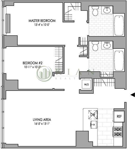 Room, Hell's Kitchen Rental in NYC for $1,741 - Photo 2