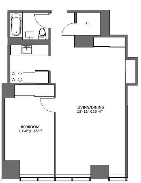 1 Bedroom, Tribeca Rental in NYC for $5,500 - Photo 2